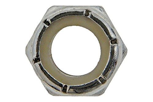 Dorman - Autograde 810-042 Hex Lock Nut With Nylon Insert-Grade 2-Thread Size- 3/8-16