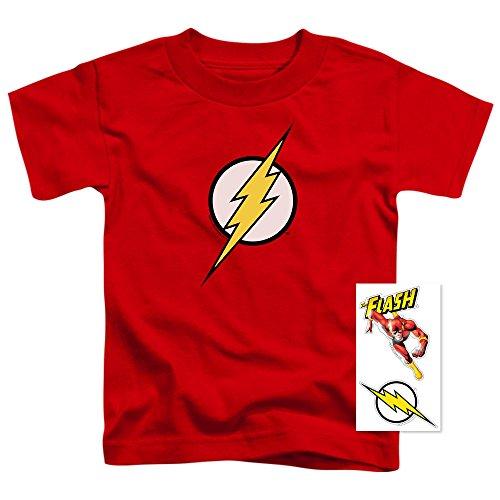 Youth Flash Lightning Bolt Logo T Shirt for Boys
