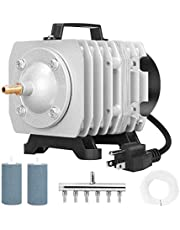 VIVOHOME Electromagnetic Commercial Air Pump for Fish Farms and Hydroponic Systems