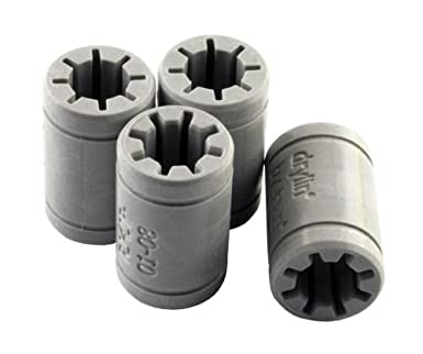 Amazon.com: 4 piezas Igus drylin rj4jp-01 – 08 Anet A8 ...