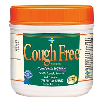 Farnam Cough Free 454g (Cough) – Effective for Coughs, Colds & Allergies For Horses