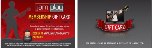 JamPlay Gift Card