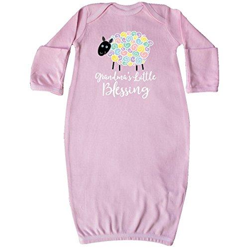 inktastic Grandma Little Blessing Grandkids Lamb Newborn Layette Pink 2bd4b