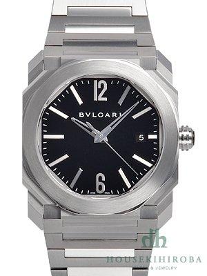 brand new 789cb d8a84 BGO38BSSD 腕時計 ブルガリ ブラック シルバー レディース BVLGARI