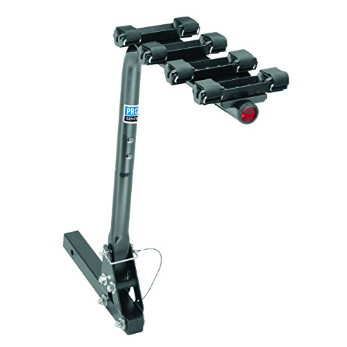 Pro-Series 63124 Eclipse Black 2-Inch Sq. 4 Bike Carrier ()