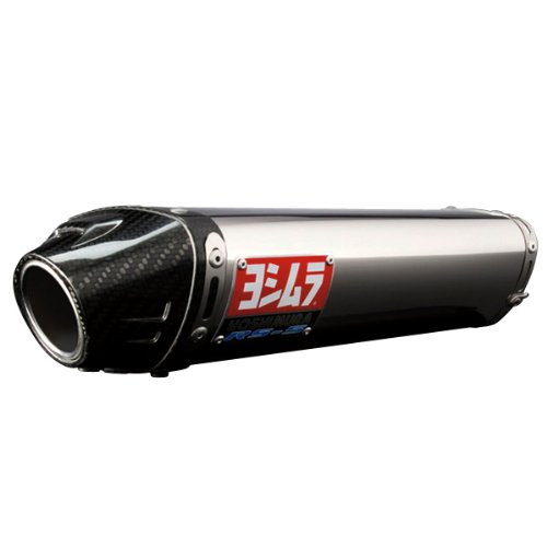 Yoshimura RS-5 Slip-On - Poilshed Stainless - Cone End Cap , Finish: Polished 1463275