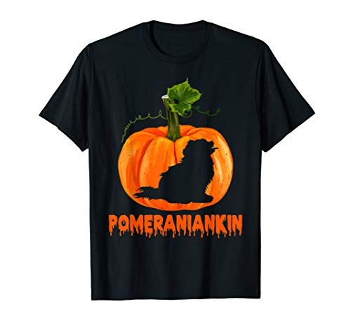 Happy Halloweiner Pomeranian Halloween Costumes Wiener Gift T-Shirt ()
