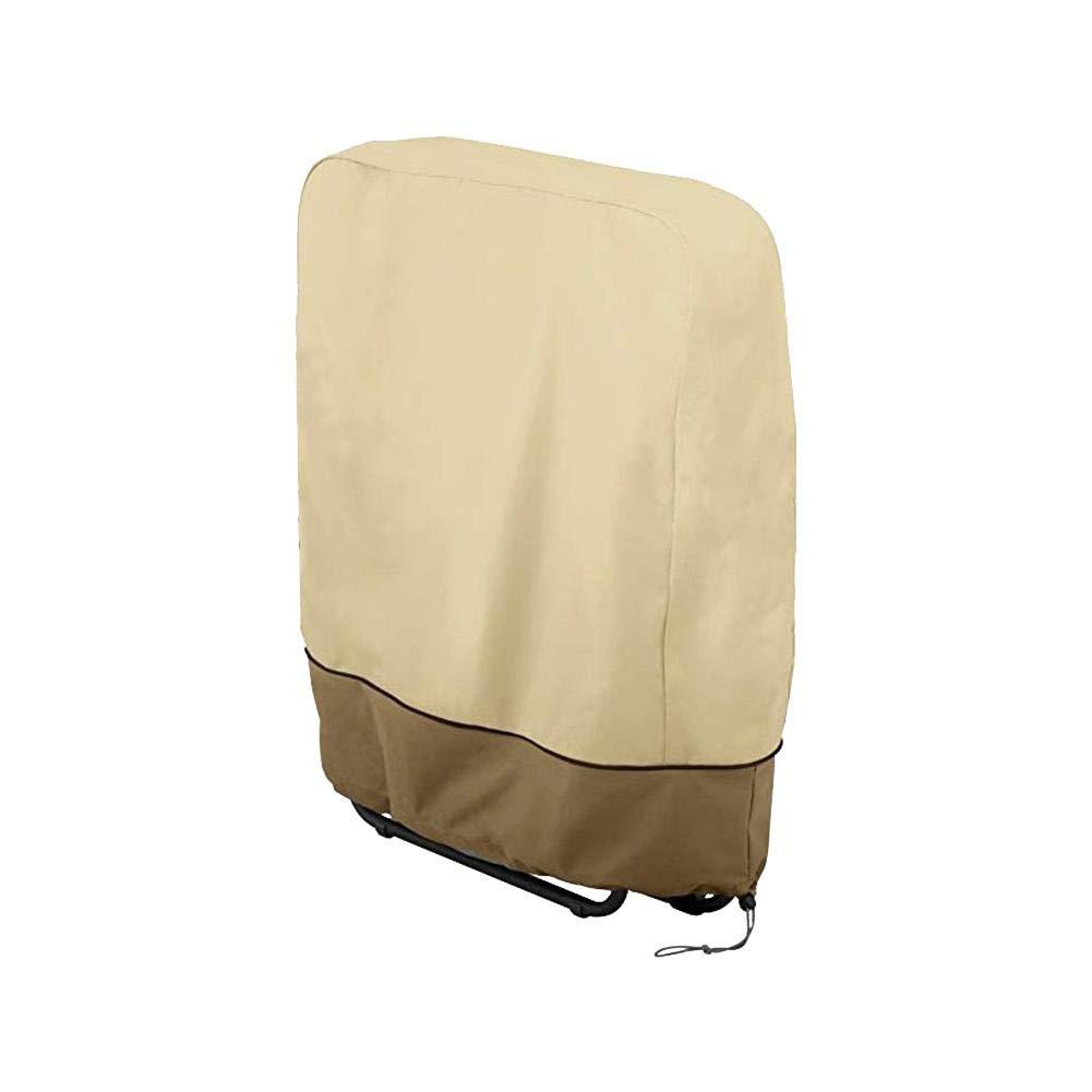 tidystore 1PCS Copertura del reclinabile del Giardino Copertura Esterna Impermeabile Leggera della Sedia della Copertura reclinabile per la casa