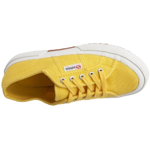 Superga 2750 Jcot Classic, Zapatillas Infantil Amarillo (176 Sunflower)