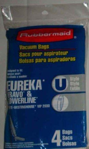 Got2B Rubbermaid Vacuum Bags Type U 4 in a Pack (Pack of ...