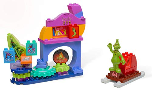 Mega Bloks Dr. Seuss How The Grinch Saved Christmas! Builiding Set, 44 -
