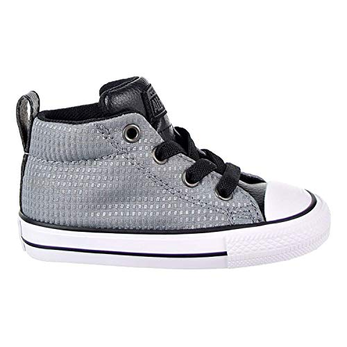 Converse Chuck Taylor All Star Street Mid Toddler's Shoes Grey/Black/White 760071f (5 M US) -