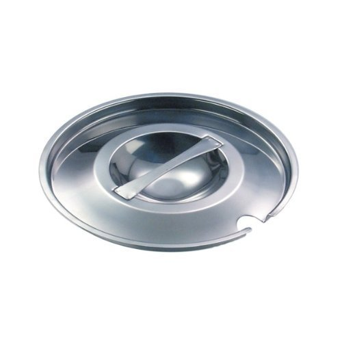 (E A Trading Lid for Bain Marie Pot - Stainless steel / 4.2 Litre/Ideal for the Commercial and Domestic Kitchens. GET COOKING! )