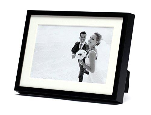 Frametory, Modern metallic picture frame, Aluminum Matte Bla