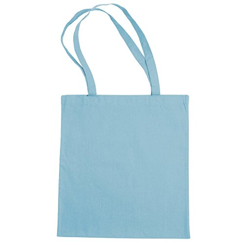 """Jassz Bags """"Beech"""" Cotton Large Handle Shopping Bag / Tote Limpet Shell"""