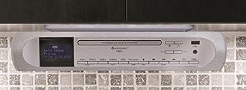 Soundmaster Highline UR2170SI Under Cabinet FM / DAB CD Player ...