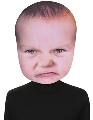 Seasons Usa Baby Angry Face -