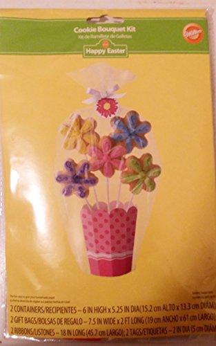 Wilton Cookie Bouquet Flower Pot Display Kit