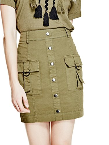Guess Women's Flynn Cargo Skirt