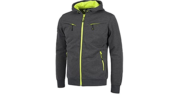 WORKTEAM - CHAQUETA WORKSHELL S9482 (T-XXL, GRIS/AMARILLO ...