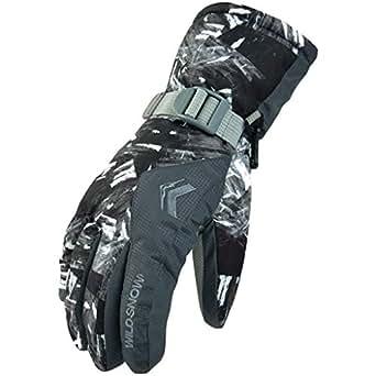 Ski Gloves Winter Gloves Warm Windproof Anti-slip Thermal