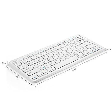 Anker Universal Bluetooth Wireless Keyboard Ultra Compact Slim