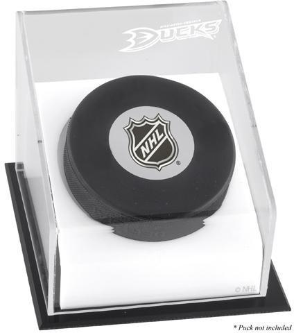 Mounted Memories Anaheim Ducks Puck Logo Display Case ()