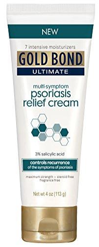Gold Bond Ultimate Multi-Symptômes du Psoriasis Allégement de la Crème à 4 Onces (pack de 2)