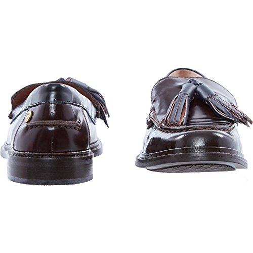 Tommy Wine Loafers Tassel Hilfiger Leather W4YgS4aqy