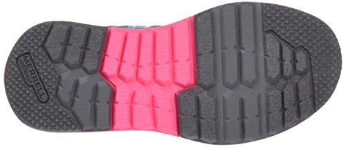 Merrell Versent, Zapatillas Para Niñas Multicolor (Grey/Pink/Turquoise)