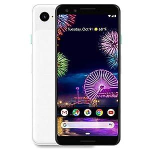 Google Pixel 3, Verizon, 64 GB – Clearly White (Renewed)