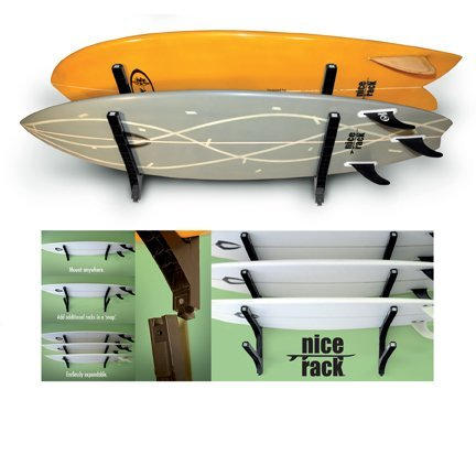 Nice Rack Surfboard Wall Rack - Triple