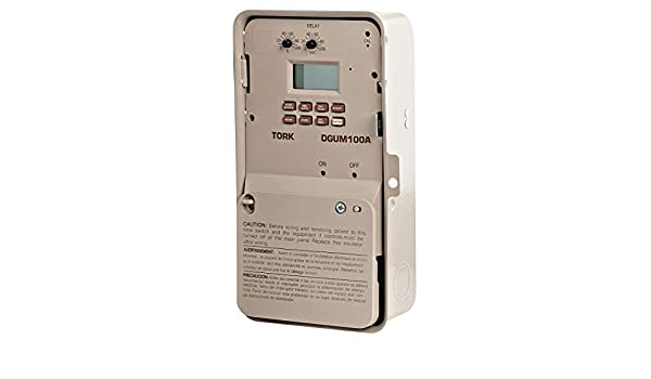 Electronic Timer, 20 Amps, 120 to 277VAC Voltage, Operation Mode: 7 Days, Number of Channels: 1 - - Amazon.com