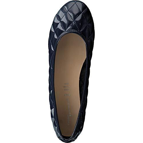 Linea Scarpa Donna Mara Trapuntato Vernice Pantofola 41 Da Classic Nero Ballerine RRwrCnxgqd