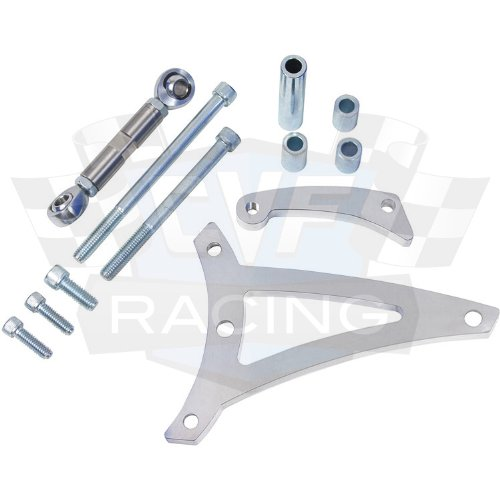 CVF Racing Pontiac Alternator Bracket - 350 -400, 428 & 455 PONT-ALTBRKT