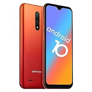 Mobile Phone SIM Free Unlocked, Android 10 GO, 2020 Ulefone Note 8P 4G Dual SIM Smartphones, 2GB RAM 16GB ROM 128GB…
