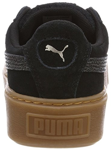 Wn's Platform Basses Femme Black Sneakers Puma Bubble Puma Noir Suede gvxqnRaRt