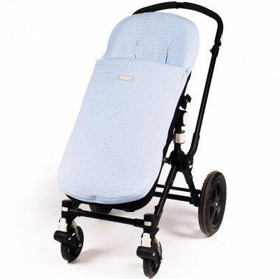 Pasito A Pasito - Funda silla universal con saco elodie azul (ed)