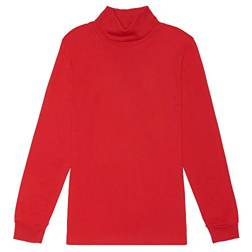 French Toast Boys' Toddler Turtleneck, Red 2T by French Toast (Image #1)
