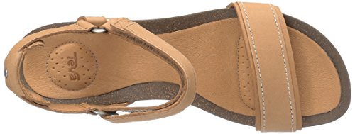 Teva Women's W Ysidro Stitch Wedge Sandal Tan amazing price online pay with paypal cheap low shipping SLC7C