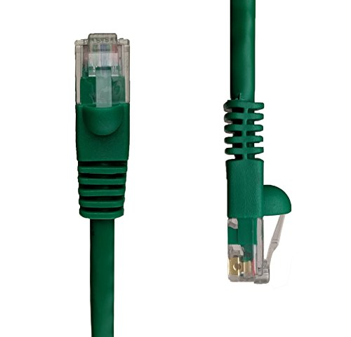 NTW 50' Cat5e Snagless Unshielded (UTP) Network Patch Cable - Green - - Green Patch Utp Cord