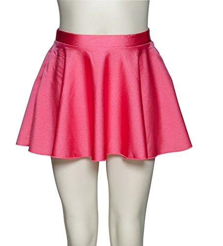 Las niñas señoras Lycra danza Ballet falda Circular por Katz ...
