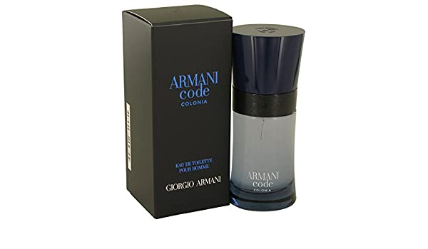 Amazon.com : Giorgio Armani Armani Code Colonia 1.7 oz Eau De Toilette Spray For Men : Beauty