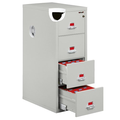 Fireproof Four Drawer Legal Size Vertical File (Fire King Fireproof Cabinet)