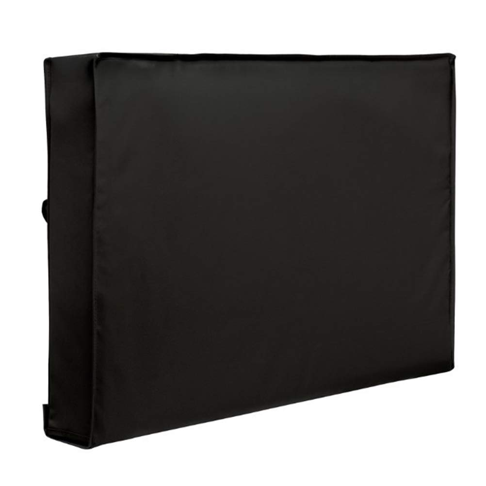 Yardwe 屋外用テレビカバー 40~42インチ用 底カバー付き 防水 防塵素材 マイクロファイバークロス付き テレビを今すぐ保護 (ブラック)   B07MCTZ2FZ