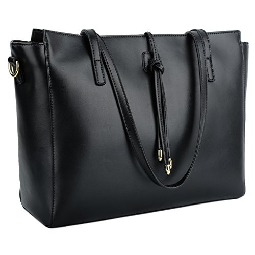 YALUXE Womens Capacity Leather Shoulder