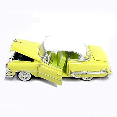 1954 Chevrolet Bel Air Yellow 1/32 Diecast Car Model: Toys & Games