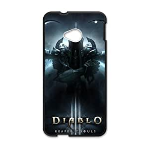 Happy DIABLO 3 Reaper of Souls Cell Phone Case for HTC One M7