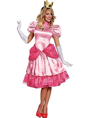 Super Mario Bros Princess Womens Costumes