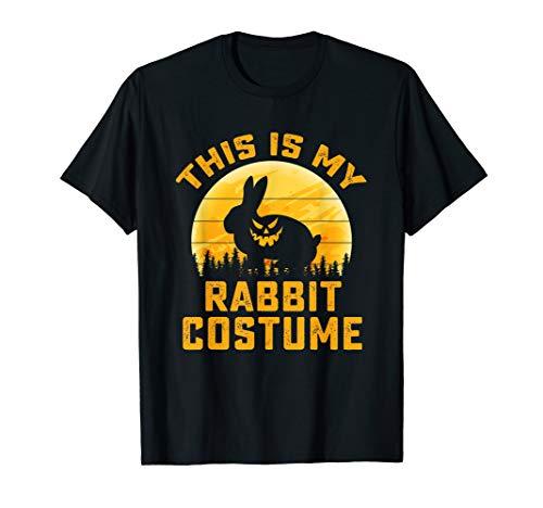 This Is My Rabbit Costume Halloween Gifts Men Women Kids T-Shirt
